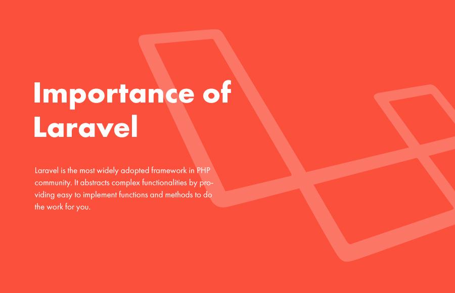 Importance of Laravel - Lavalite
