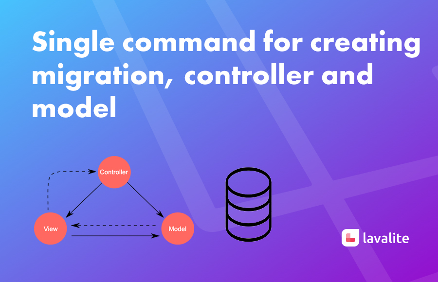 Single command for creating migration,controller and model