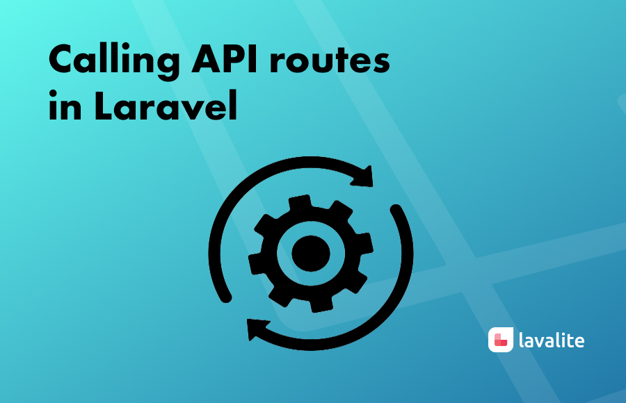 Calling API routes in Laravel