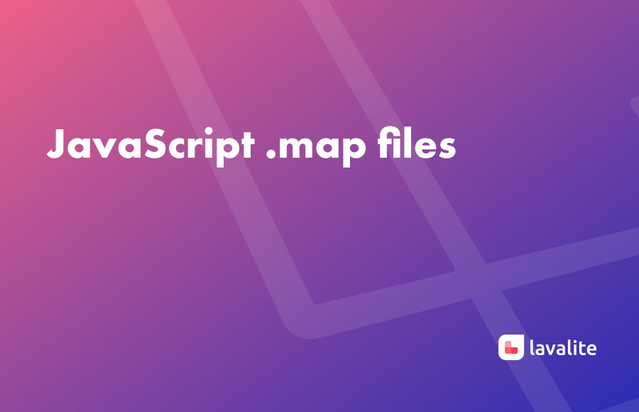 javascript .map files