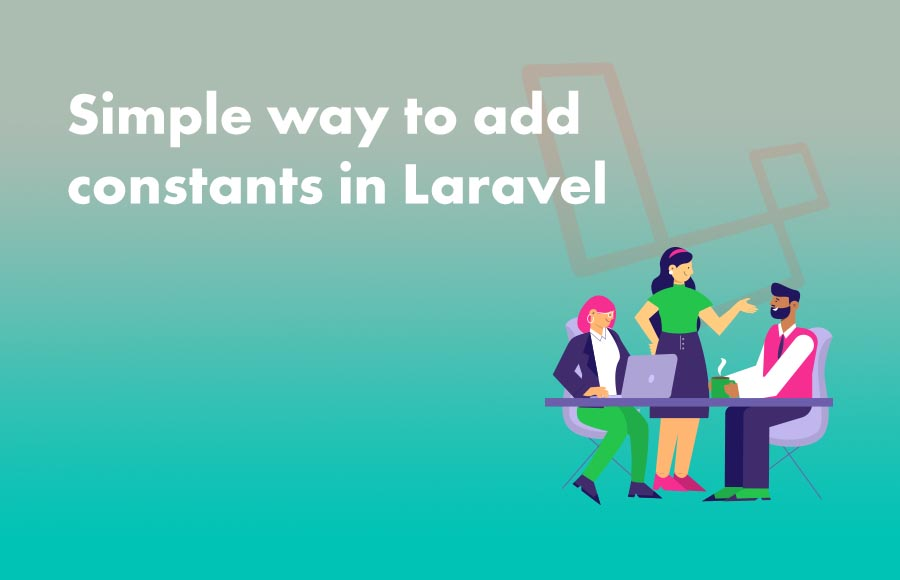 Simple way to add constants in Laravel