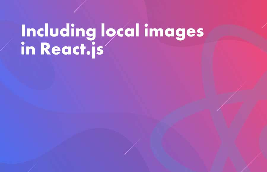 Including local images in React.js