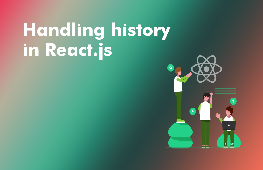 Handling history in React.js
